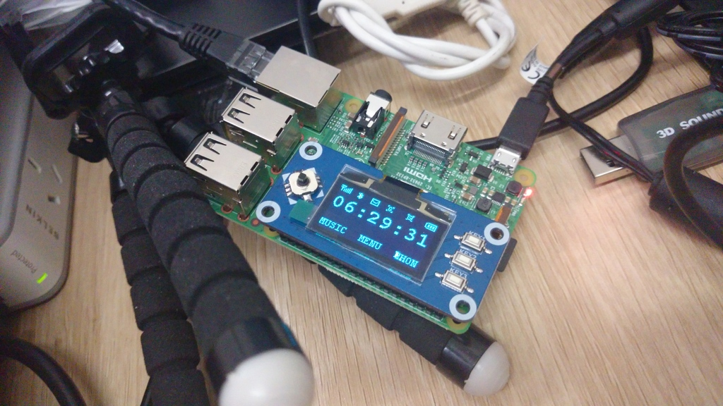 Raspberry Pi with Waveshare Rpi Hat