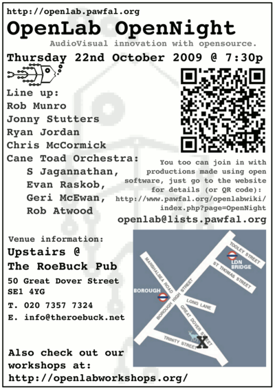 Openlab OpenNight flyer
