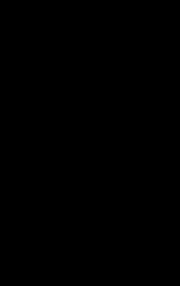 A hand drawn lock